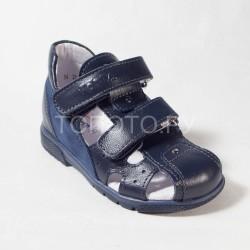 Сандалии детские закрытые Тотто 059 синие