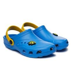 Сабо Дюна 601 голубой/желтый