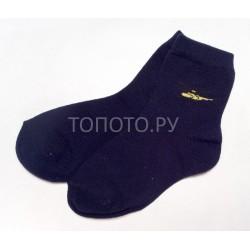 Носки детские сине-черные с вертолетиком