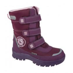 Ботинки Mursu зимние 211572. Бордовые