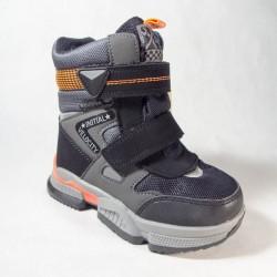 Ботинки Tom&Miki зимние B-7828-A серые