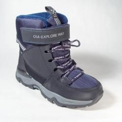 Ботинки Сказка зимние темно-синие