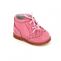 Ботинки на первый шаг Тотто 011 пион/белый