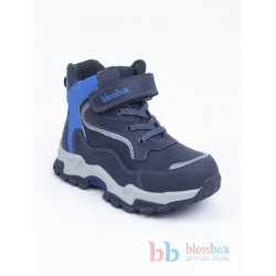 Ботинки Blessbox демисезонные BX50776B синие