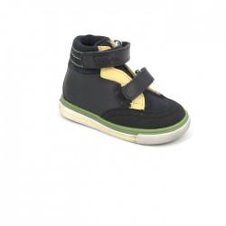 Ботинки демисезонные Тотто 256 синий/желтый