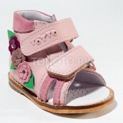 Сандалии на первый шаг Тотто 02 розовые